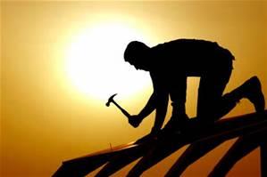 Man Building something
